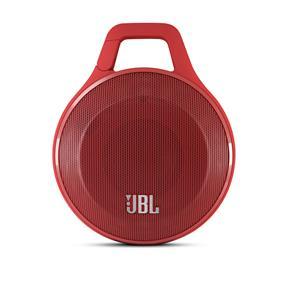 JBL Clip+ Wireless Portable Bluetooth Speaker (Red)