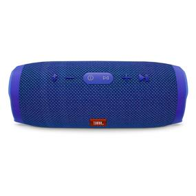 JBL Charge 3 Portable Wireless Stereo Bluetooth Speaker (Blue)