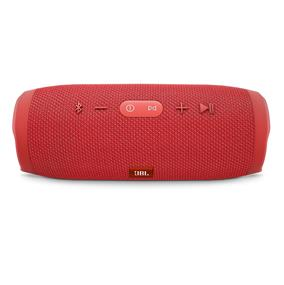 JBL Charge 3 Portable Wireless Stereo Bluetooth Speaker (Red)