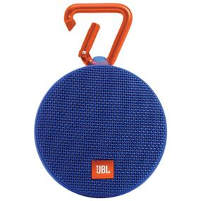 JBL Clip 2 Wireless Portable Bluetooth Speaker (Blue)