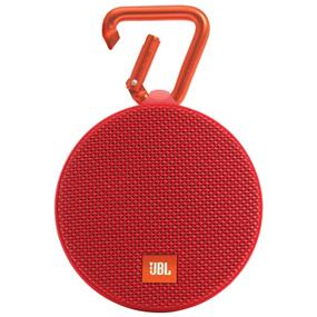 JBL Clip 2 Wireless Portable Bluetooth Speaker (Red)