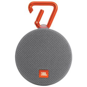 JBL Clip 2 Wireless Portable Bluetooth Speaker (Grey)