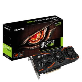 GIGABYTE GeForce GTX 1080 WINDFORCE OC 8GB(GV-N1080WF3OC-8GD)