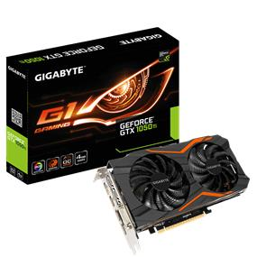 GIGABYTE GeForce GTX 1050 Ti G1 Gaming 4GB (GV-N105TG1 GAMING-4GD)