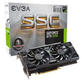 EVGA GeForce GTX 1050 SSC GAMING ACX 3.0 2GB(02G-P4-6154-KR)
