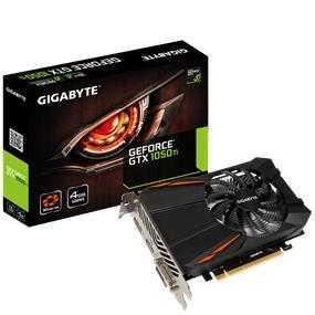GIGABYTE  GeForce GTX 1050 Ti D5 4GB(GV-N105TD5-4GD)