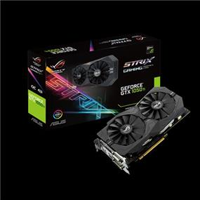 ASUS ROG Strix GeForce GTX 1050 Ti 4GB Gaming OC (STRIX-GTX1050TI-O4G-GAMING)