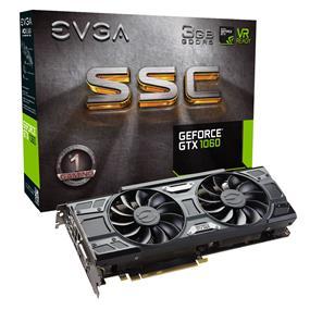 EVGA GeForce GTX 1060 3GB SSC GAMING ACX 3.0 (03G-P4-6167-KR)