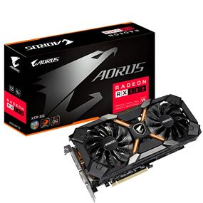 GIGABYTE AORUS Radeon RX 580 XTREME 8GB (GV-RX580XTRAORUS-8GD)