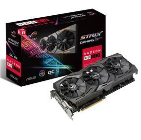 ASUS ROG Strix Radeon RX 580 8GB Gaming OC (STRIX-RX580-O8G-GAMING)