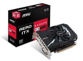 MSI Radeon RX 550 AERO ITX OC 2GB