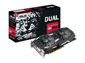 ASUS Dual RX 580 4GB OC (DUAL-RX580-O4G)
