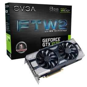EVGA GeForce GTX 1070 8GB FTW2 Gaming iCX (08G-P4-6676-KR)