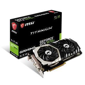 MSI GeForce GTX 1070 Ti TITANIUM 8G