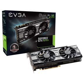 EVGA GeForce GTX 1070 Ti SC Gaming ACX 3.0 Black Edition 8GB GDDR5 (08G-P4-5671-KR)
