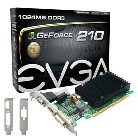 EVGA GeForce GT 210 1GB DDR3 (01G-P3-1313-KR)