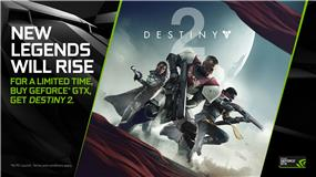 Buy a GeForce GTX 1080 Ti or GeForce GTX 1080 graphics card or laptop and get Destiny 2. Promo 8/21/17 – 9/5/17