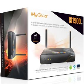MyGica ATV1900 PRO Quad 4K HD Android 5.1 TV Streaming Box + Air Mouse Keyboard. 2GB RAM / 16GB Memory