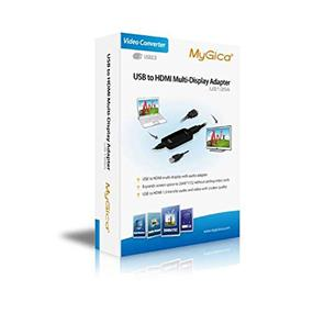 MyGica USB to HDMI Multi-Display Adapter - Support up to 2048x1152 Resolution