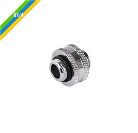 Thermaltake Pacific G1/4 Male to Male 10mm extender - Chrome/DIY LCS/Fitting (CL-W042-CU00SL-A)