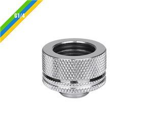 "Thermaltake Pacific DIY LCS PETG 16mm (5/8"") Chrome (CL-W092-CA00SL-A)"