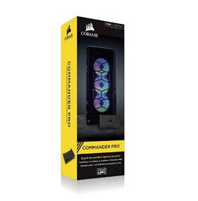 Corsair Commander PRO grants superior and accurate hardware control with a compact, all-in-one device(CL-9011110-WW)