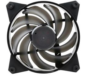 COOLER MASTER MasterFan Pro 120 Air Balance with Hybrid Fan Blade, Speed Profiles, Exclusive Silent Driver, Rubber Mounting Inserts, and Jam Protection by Cooler Master (MFY-B2NN-13NMK-R1)
