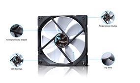 Fractal Design Dynamic X2 GP Cooling Fan- White (FD-FAN-DYN-X2-GP12-WT)