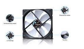Fractal Design Dynamic X2 GP Cooling Fan- White (FD-FAN-DYN-X2-GP12-WT)