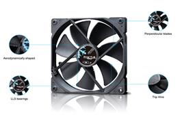 Fractal Design Dynamic X2 GP Cooling Fan- Black (FD-FAN-DYN-X2-GP14-BK)