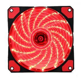 KOPPLEN 120MM RED LED SILENT FAN (ACF120-15LED-RED)