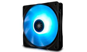 Deepcool  RF 120 Single Series 120mm Red LED Case Fan (DP-FRGB-RF120-1C)