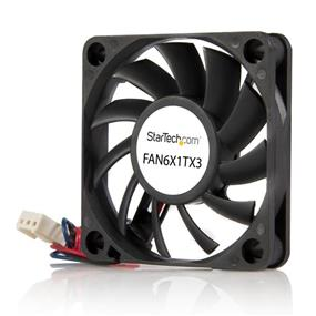 StarTech 60x10mm Replacement Ball Bearing Computer Case Fan w/ TX3 Connector (FAN6X1TX3)