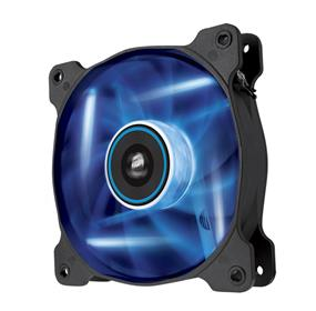 Corsair Air Series AF140 LED Blue Quiet Edition 140 mm x 25 mm, 3 pin, Single Pack (CO-9050017-BLED)