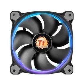 Thermaltake Riing 12 LED RGB 256 Colors High Static Pressure LED Radiator Fan + Controller (Single Fan Pack) (CL-F042-PL12SW-A)