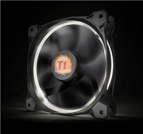 Thermaltake RIING 14 - 140mm High Static Pressure Radiator White LED Fan 1400rpm Hydraulic Bearing