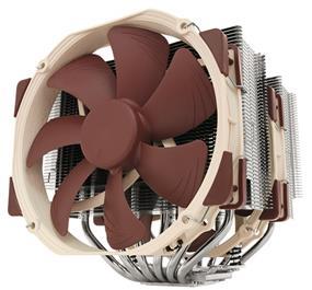 Noctua CPU Cooler NH-D15 Intel Socket 2011-0//2011-3/1156/1155/1150/1151 AMD AM2/2+/3/3+/FM1/2/2+ 140mm 12V Retail