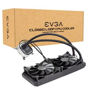 EVGA CLC 280 Liquid CPU Cooler, 280mm, RGB LED