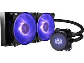 MasterLiquid Lite ML240L RGB All-in-one CPU Liquid Cooler with Dual Chamber Pump (MLW-D24M-A20PC-R1)