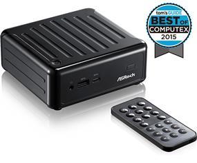 ASRock BeeBox J3160 Black Mini PC, Intel Celeron J3160 Up to 2.24 GHz, Intel HD Graphics, Dual Channel (Beebox J3160-2G32SW10/B)