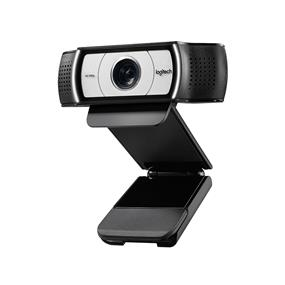 Logitech C930e Full HD 1080p USB Webcam - Black and Silver (960-000971)
