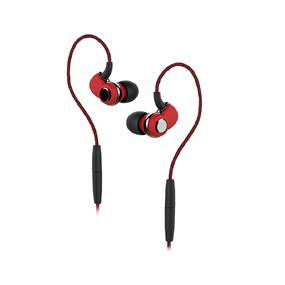 SoundMAGIC ST30 Red Bluetooth Earphone with Mic and 3.5mm Cable