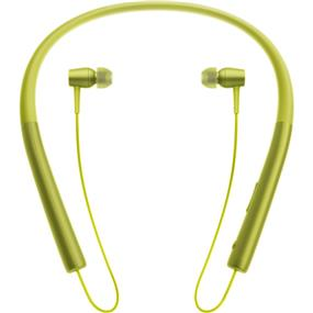Sony MDR-EX750BT h.ear in Wireless Bluetooth In-Ear Headphones (Lime Yellow)