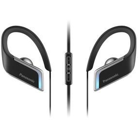 Panasonic RPBTS50 - Wings Bluetooth Earbuds with LED Lighting (Black)