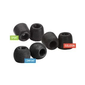 Comply Foam SMARTCORE Variety Pack Pro (Size M) - Includes Sport, Isolation & Comfort