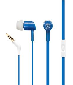 Wicked Audio Havok Headphones with Microphone (Bluebird)