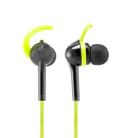 Wicked Audio Fang Anchor Fit Earbud (Black/Lime)