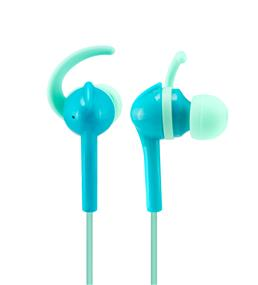 Wicked Audio Fang Anchor Fit Earbud (Blue/Aqua)