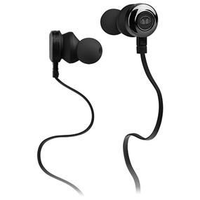 Monster Clarity HD - In-Ear Sound Isolating Headphones with Mic (Black)
