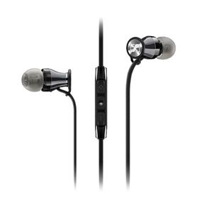 Sennheiser HD 1 - In-Ear Headphones for Samsung Galaxy and Android Devices (Black/Chrome)